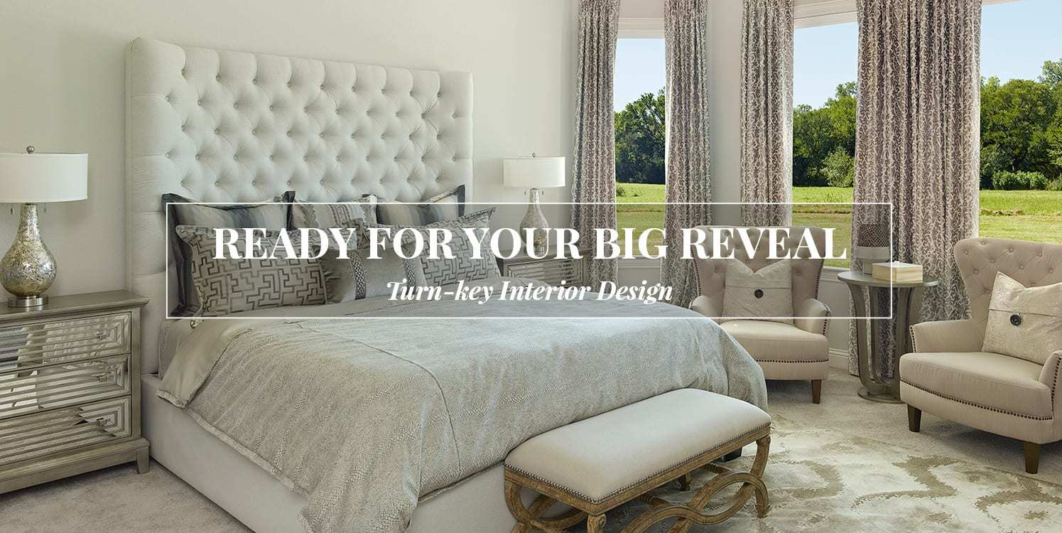 Interior Design banner image with text