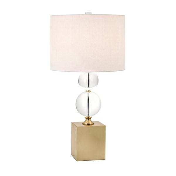 Crystal Sphere Table Lamp M Wilcox Design